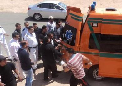 مصرع 9 وإصابة 11 فى تصادم بين 3 سيارات بالإسكندرية