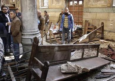 تفجير أحد الكنائس المصرية - أرشيفية