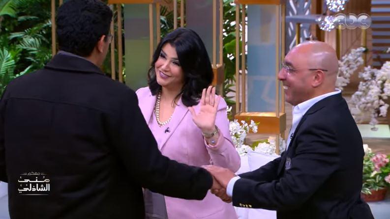 فيديو.. منى الشاذلي تفاجئ جمهورها بـ«موبايلات» هدية -          بوابة الشروق