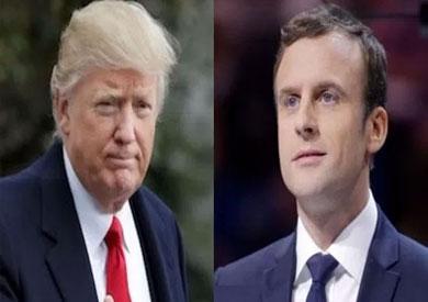 ترامب يهنئ «ماكرون» تليفونيا ولقاء يجمع بينهما على هامش قمة الناتو