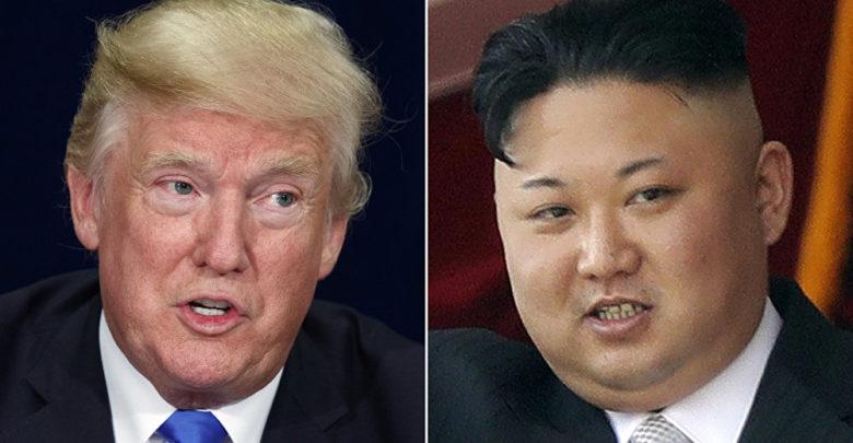 الزعيم الكوري الشمالي كيم جونج - الرئيس الأمريكي دونالد ترامب