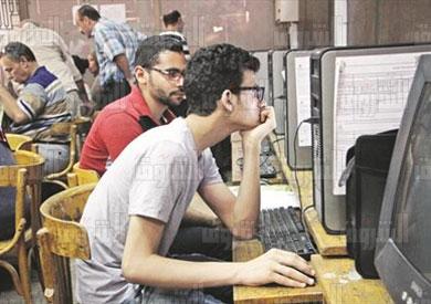 التنسيق بجامعة القاهرة للمرحلة الاولى لطلاب الثانوية العامة - تصوير احمد عبد الفتاح