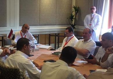 رئيس بعثة الحج الرسمية يطمئن على تجهيزات التصعيد لعرفات