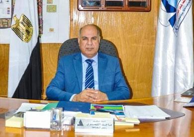 ماجد القمري رئيس جامعة كفر الشيخ