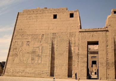 معبد هابو غرب الأقصر