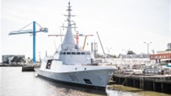 القوات البحرية تتسلم أول وحدة شبحية من طراز «جوويند» الفرنسية الصنع