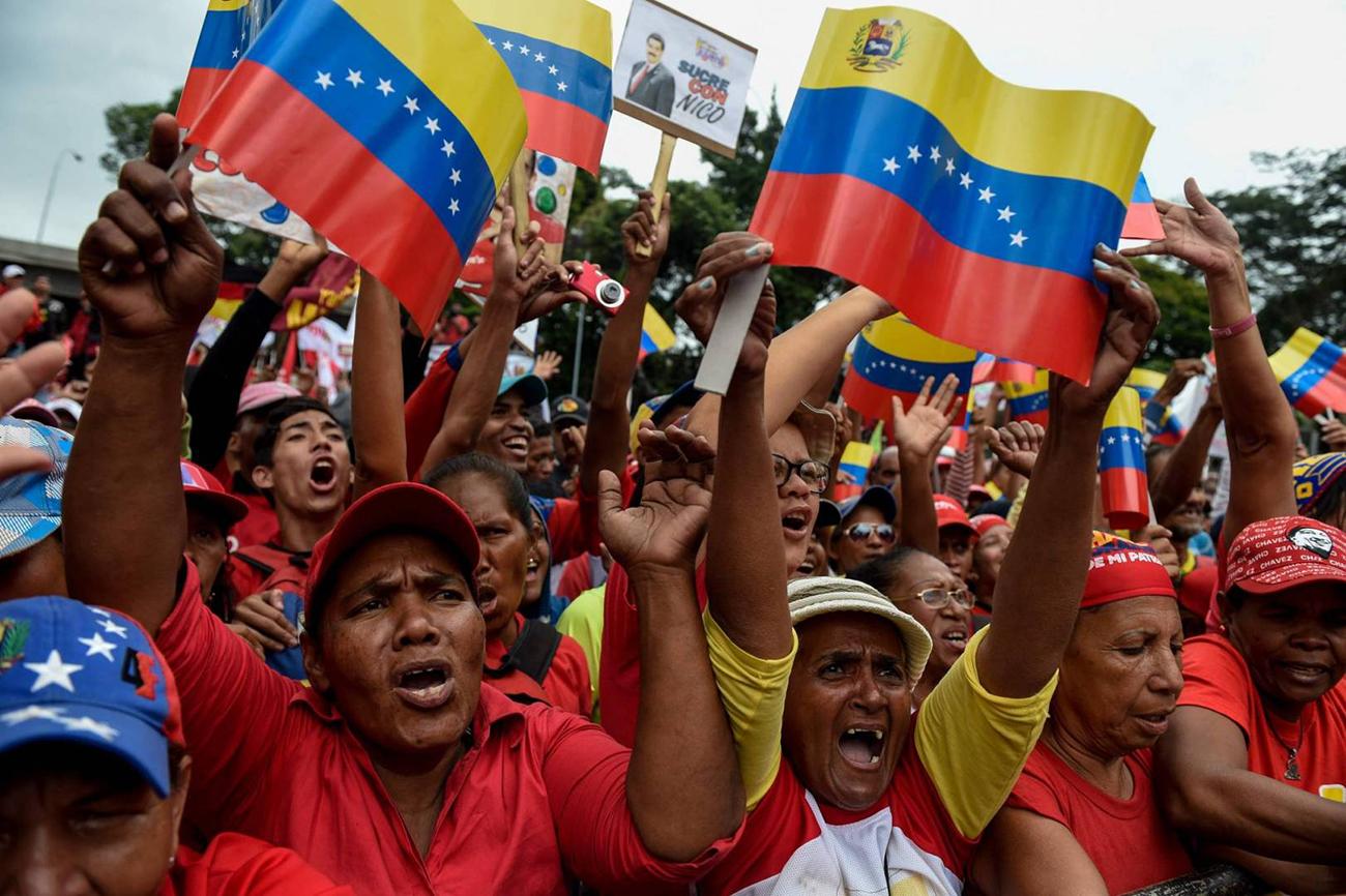 فنزويلا: زعيم المعارضة ينصّب نفسه رئيسا مؤقتا للبلاد.. وترامب يعترف به