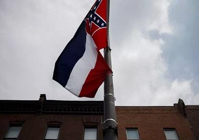 علم ولاية مسيسيبي الأمريكية
