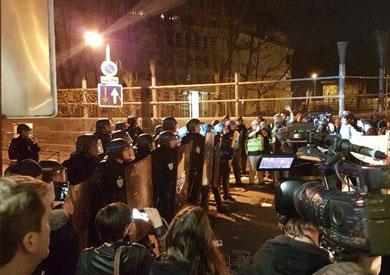 حادث إطلاق النار الذي وقع مساء أمس الخميس بالعاصمة الفرنسية باريس