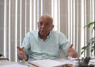 الدكتور محمد غنيم - تصوير: أحمد رشدي