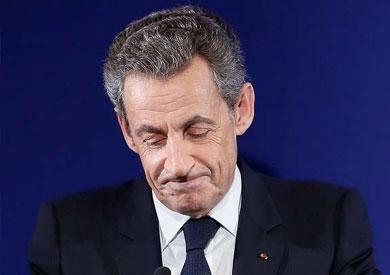 الرئيس الفرنسى السابق نيكولا ساركوزى