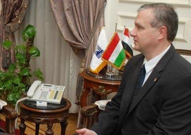 سفير المجر بالقاهرة بيتر كيفيك