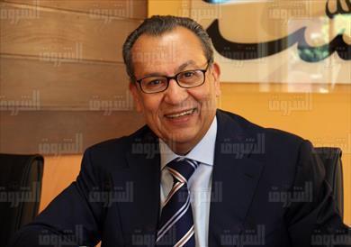 المهندس إبراهيم المعلم رئيس مجلس إدارة مؤسسة الشروق