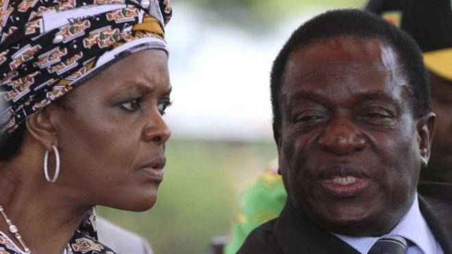 يدعم شبيبة الحزب تولي غريس زوجة موغابي منصب نائب الرئيس<br/>