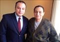 الرئيس الراحل مبارك وتامر عبد المنعم