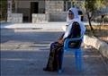 مفتية طليب جدة النائبة بالكونجرس الأمريكي رشيدة طليب أمام منزلها بالضفة الغربية يوم الجمعة. تصوير: محمد تركمان - رويترز