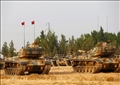 دبابات تركية عند الحدود مع سوريا