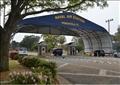 مدخل قاعدة بينساكولا الجوية التابعة لسلاح البحرية الأمريكي. صورة من أرشيف رويترز. (صورة لرويترز من البحرية الأمريكية)
