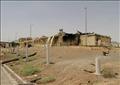 آثار الدمار تبدو على مبنى بعد اندلاع حريق فيه يوم الخميس بمنشأة نطنز النووية الإيرانية في أصفهان. صورة من وكالة غرب اسيا للانباء.