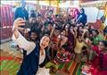 هند صبري تزور مخيمات اللاجئين الروهينجا في بنجلاديش