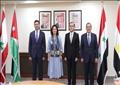 وزراء البترول والطاقة في مصر والاردن وسوريا ولبنان