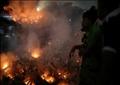 لم يسجل وقوع ضحايا رغم قوة النيران