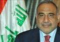 رئيس الوزراء عادل عبد المهدي