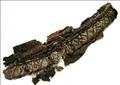 بقايا نسيج من خيوط الحرير والفضة مكتشف في السويد