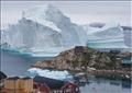 مخاوف من انقسام الجبل الجليدي وحدوث موجات مد تسونامي مدمرة