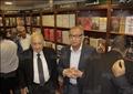 نبيل العربي في افتتاح مكتبة الشروق بالمهندسين - تصوير: أحمد عبد الجواد