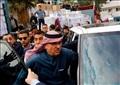 لحظة مغادرة السفير القطري من غزة