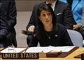 المندوبة الأمريكية في مجلس الأمن نيكي هايلي