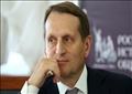 مدير جهاز الاستخبارات الخارجية الروسية سيرجي ناريشكين،