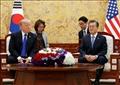الرئيس الكوري الجنوبي مون جاي إن ونظيره الأمريكي دونالد ترامب