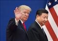 الرئيس الأمريكي دونالد ترامب ونظيره الصيني شي جين بينج