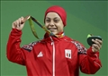 سارة سمير البطلة الأوليمبية في رفع الأُثقال