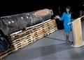 هيلي تعرض أجزاء من صاروخ إيراني