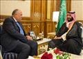 وزير الخارجية سامح شكري وولي العهد السعودي محمد بن سلمان - أرشيفية