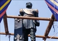 «الثقافة» تعيد تمثال الخديوي إسماعيل إلى شكله الأصلي