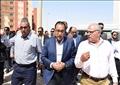 مصطفى مدبولي رئيس الوزراء خلال جولة ميدانية