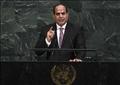 السيسي يلقي كلمة مصر أمام الأمم المتحدة
