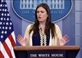 سارة ساندرز المتحدثة باسم البيت الأبيض