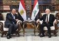 وزير الخارجية سامح شكري مع نظيره العراقي إبراهيم الجعفري
