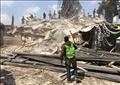 من آثار الزلزال في المكسيك