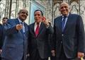 شكري مع نظيريه التونسي والجزائري - أرشيفية