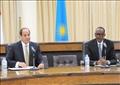 الرئيس السيسي ونظيره الرواندي بول كاجامي