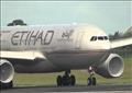 طائرة تابعة لشركة «طيران الاتحاد» الإماراتية