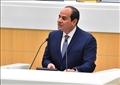الرئيس عبد الفتاح السيسي يلقي خطابا أمام الفيدرالية الروسية