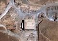 الموقع الذي دمرته إسرائيل في سوريا
