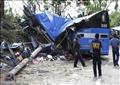 سقوط حافلة في الفلبين - أرشيفية